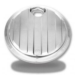 PM Fuel Door, Drive, Chrome