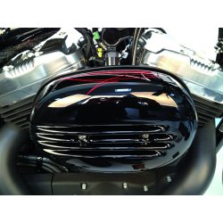 "Aircleaner Cover ""Fin"" Black Gloss"