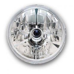 """Optique de phare 5 3/4"""" By Adjure,Trillient Style,avec Blue Dot et parabole """"Diamond Cut"""""""