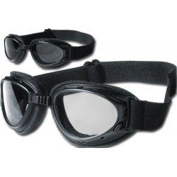 Lunettes moto Helly Hurricane 2, noir avec verres fumés