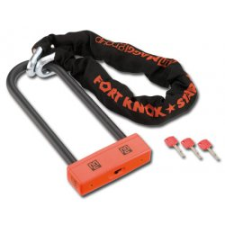 MAGGI Fort Knox Square Star Chain Lock - 100cm