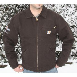 CCE Worker Jacket Brown