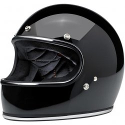 Casque integral Gringo , Noir Brillant