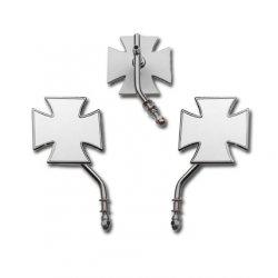 Retroviseur 1 PC,Tige longue,Croix de Malte, Coté gauche