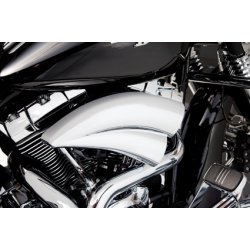 Filtre à air Double Barrel By Arlen Ness, chrome, pour Dyna, softail et touring