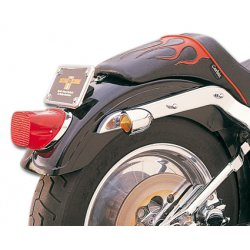 REAR FENDER with REVEAL without light