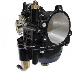 Carburateur Super E ,S&S, noir
