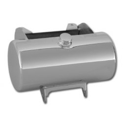 ROUND OIL TANK W/BATTERY BOX