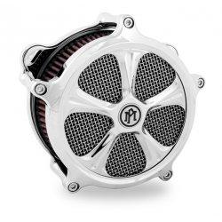 Cache filtre à air Super Gas By Performance Machine, Seven Chrome