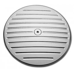Cache filtre à air chrome Milenium pour Twin cam 99-15