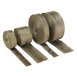 """Bande d'échappement , rouleau, titanium, 1"""" x 50 Ft."""