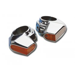 Chrome Side View Marker Lights