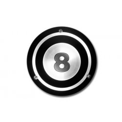 Black Derby Cover 8-Ball 5-Hole