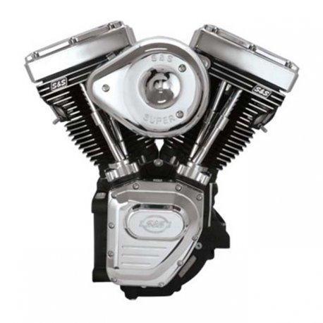 S&S T124 Evo Style Engine, Delphi EFI, EU3, Black