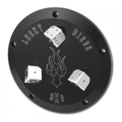 Black Derby Cover Dices 5-Hole