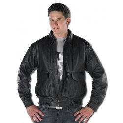 Vented Bomber Jacket Cowhide