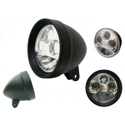 5.75 Black LED headlight