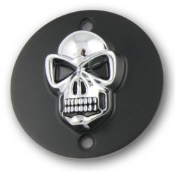 Point Cover Black/Gold Skull