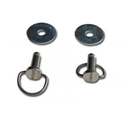 Bail Head Fastener with Washers