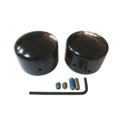 Black Rear Axle Cap Kit