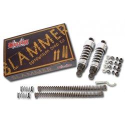 Burly Slammer Kit with black rear shocks