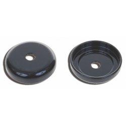 Cache inférieur Té de fourche inférieur, Noir mat, pour Sportster