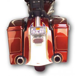 Rear Bagger Fender Cover & Saddle Bag Extension