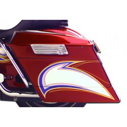 Ness Bagger Saddlebag Extensions