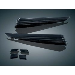 Gloss Black LED Saddlebag Extensions