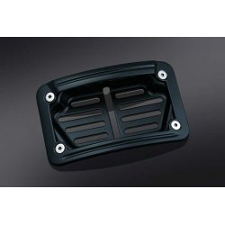 Black LED Laydown Curved License Plate