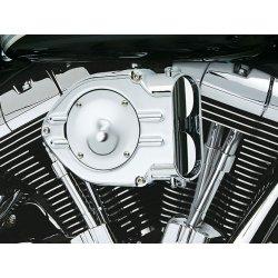 Filtre à air Standard Hypercharger By Kuryakyn, Chrome