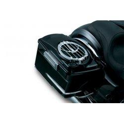 "Saddlebag Lids with 6""x9"" Speakers, Chrome Speaker Grills"