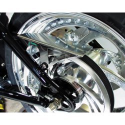 TXT, Belt Guard all Softail Evo/TC polished