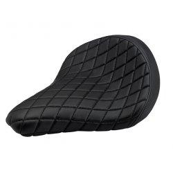 Biltwell, Solo 2 Seat, Diamond - Black
