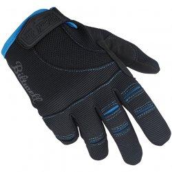 Gants moto Biltwell, , Noir,Bleu XXL