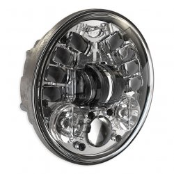 "JW Speaker 8690A, LED Adaptive 5 3/4"", Chrome"
