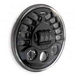 "JW Speaker 8790A, LED Adaptive 7"" Headlight insert, Black"