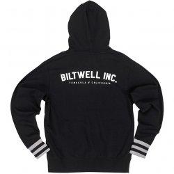 Sweat Shirt à capuche Biltwell, Basic, Noir,