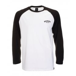 Dickies Baseball Long Sleeve Raglan T-Shirt Black