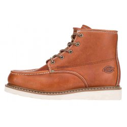 Illinois Mens 5 Inch Moc Toe Boot Chestnut
