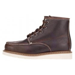 Illinois Mens 5 Inch Moc Toe Boot Dark Brown