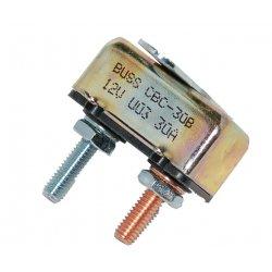 Universal 30-Amp Circuit Breaker, 10-32 Studs