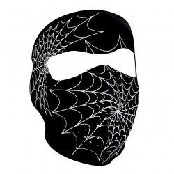 Masque entier, Neoprene, Gluw In The Dark, Spider Web