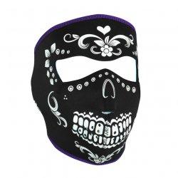 Masque entier, Neoprene, Muerte Reversible To Teal