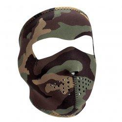 Masque entier , Neoprene, Woodland Camo