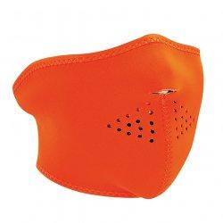 Demi-masque , Neoprene, High-Visibility Orange