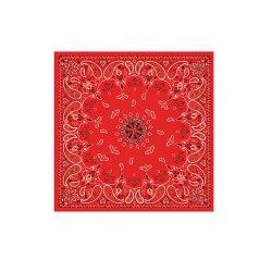 Bandana, Coton, Red Paisley