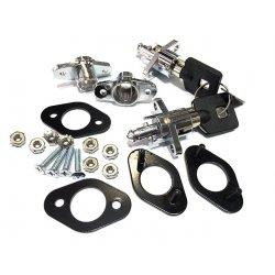 Universal Saddlebag Lock Kit , Fits Most Soft Sided Saddlebags