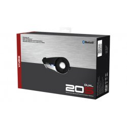 20S, Motorcycle Bluetooth Communication System Dual Pack