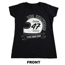T-Shirt, Edition 47, Women, Black